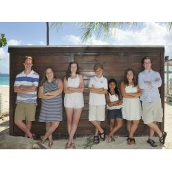Alison and Dan Family, Jean Vallette family photography in St Martin