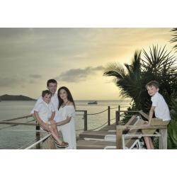 Jean Vallette Family Photography SXM - Morgan Family