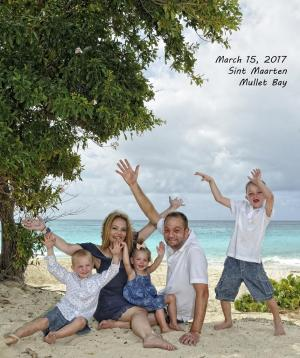 Jean Vallette, Family Photographer in St.Martin
